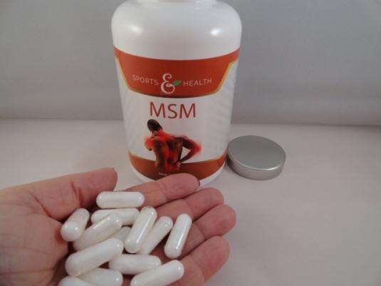 Im Test: MSM Kapseln von CDF Sports & Health Solutions   Produkttest