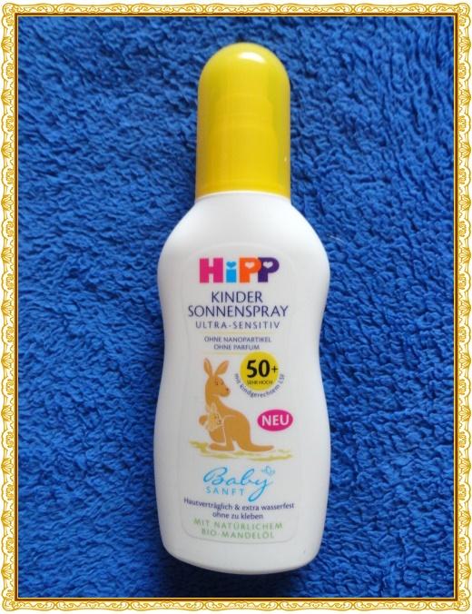 Getestet Hipp Babysanft Kinder Sonnenspray 50 Produkttest Lounge