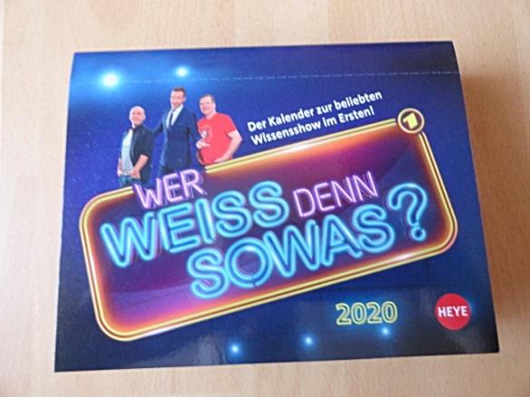 Kalendertipp 2020 Wer Weiss Denn Sowas Der Kalender Zur
